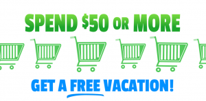 free vacation sweepstakes and giveaways | 7 Day Free Trial | Ad example 1
