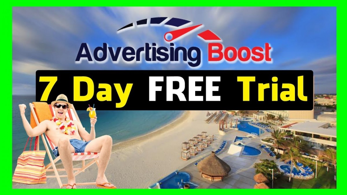 Advertising Boost 7 Day Free Trial